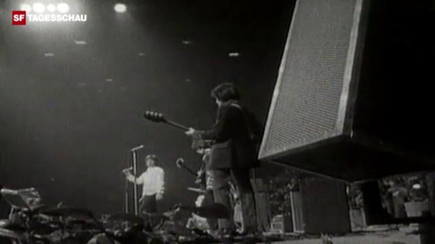 Video «Rolling Stones sorgen für Probleme in Zürich (10vor10)» abspielen