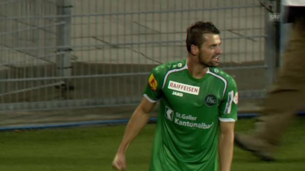 Video «Fussball: Cup, Basel-St. Gallen, Saisonbilanz» abspielen