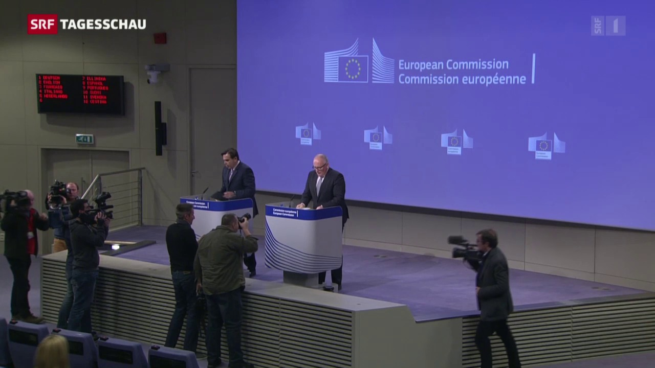 EU überprüft Rechtsstaatlichkeit Polens