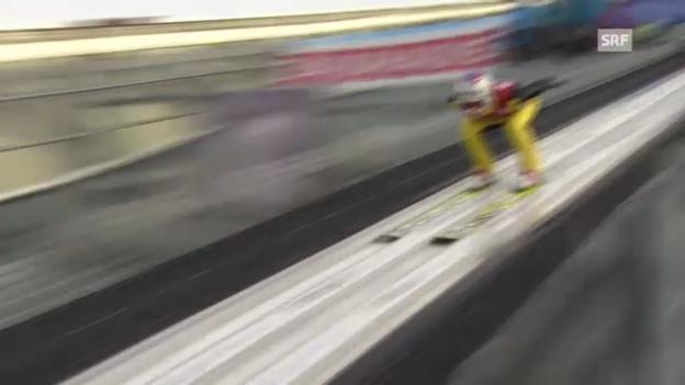 Video «Springen Garmisch: Sprung Ammann» abspielen