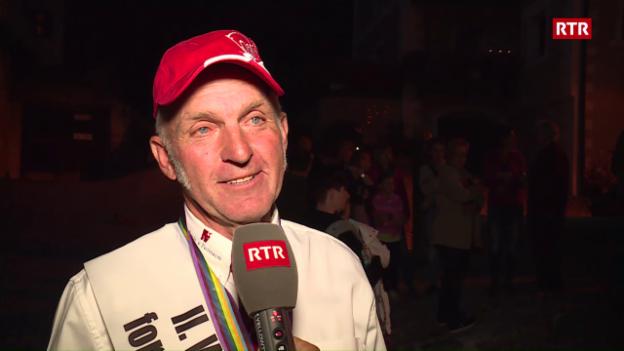 Laschar ir video «Festa da bainvegni per Giacomin Barbüda»