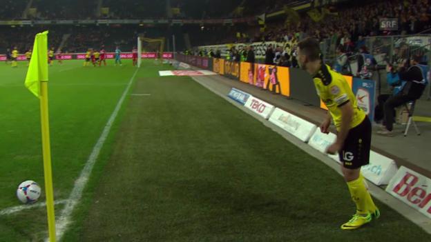 Video «Fussball: Super League, Zusammenfassung YB - Lausanne» abspielen