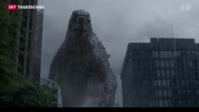 Video «Godzilla feiert Geburtstag» abspielen
