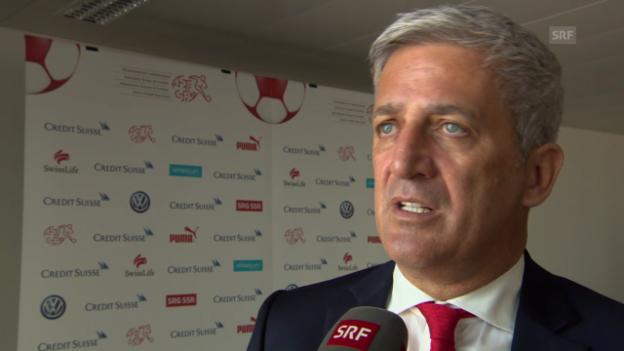 Video «Fussball: EURO-Qualifikation, Vladimir Petkovic» abspielen
