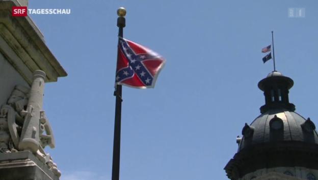 Video «Konföderierten-Flagge: Ein umstrittenes Symbol in den USA» abspielen
