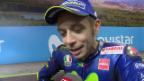 Video «Motorrad: Lüthi zurück, Rossi stark» abspielen