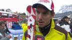 Video «Ski Alpin: Abfahrt Männer in Alta Badia, Interview mit Janka («sportlive», 22.12.2013)» abspielen