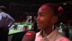 Video «Chelsea Fontenel über Roger Federer» abspielen