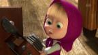 Video «Masha und der Bär (34): Säg Chääs» abspielen