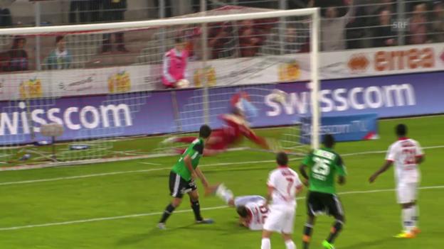 Video «SL. Sion - Lausanne» abspielen