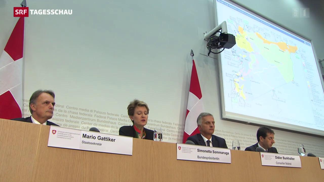 Bundesrat stockt humanitäre Hilfe auf