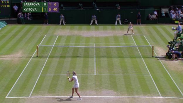 Video «Kvitova - Safarova: Der Matchball» abspielen