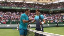 Link öffnet eine Lightbox. Video Federer-Bedene: Die Livehighlights abspielen