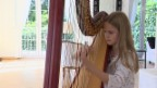 Video «Junges Talent an der Harfe» abspielen