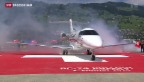 Video «Pilatus Flugzeugwerke präsentieren Business-Jet» abspielen