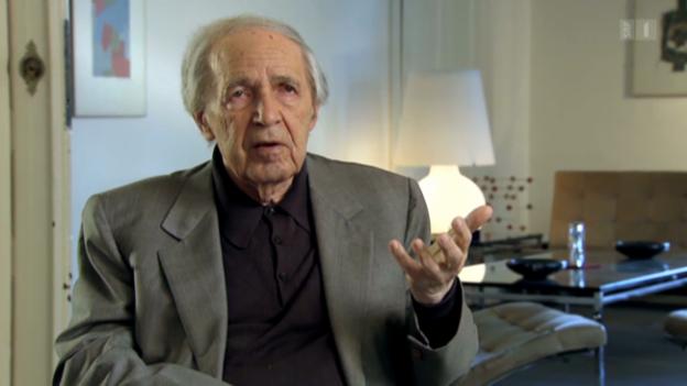 Video «Pierre Boulez über die Grundidee der Lucerne Festival Academy» abspielen