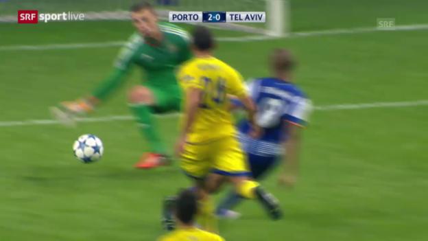 Video «Fussball: Champions League, 3. Runde, Porto - Maccabi» abspielen