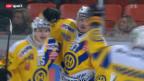 Video «Eishockey: Biel - Davos» abspielen