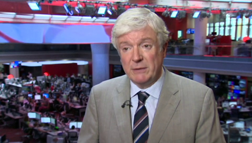 BBC-Generaldirektor Tony Hall zum Stellenabbau