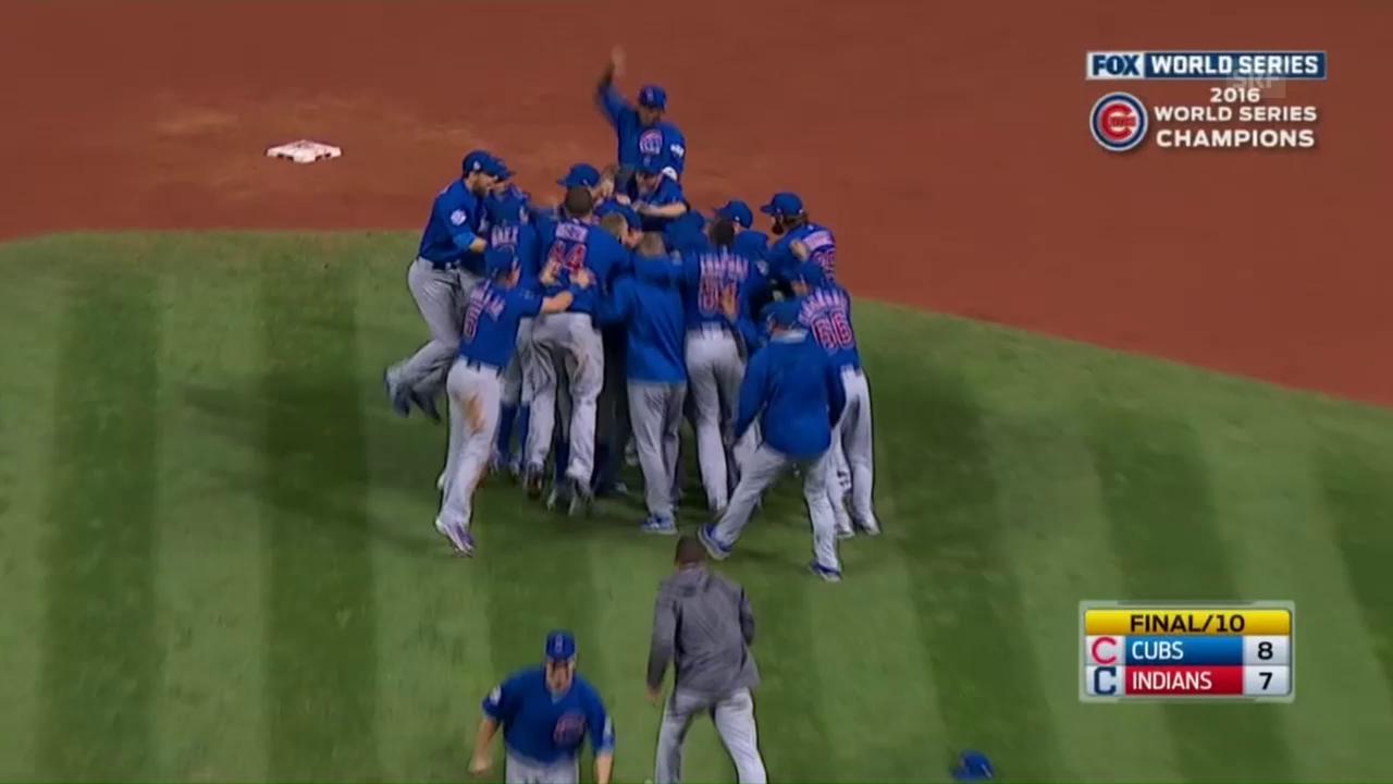 Chicago Cubs gewinnen World Series