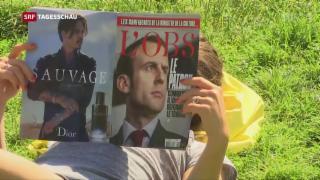 Video «Zweite Runde der Parlamentswahl in Frankreich» abspielen