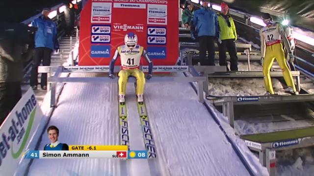 Simon Ammanns 1. Sprung