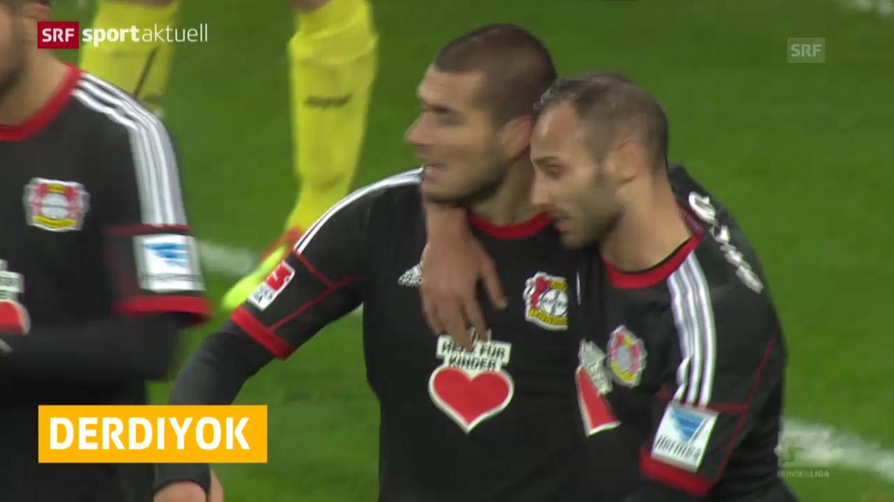 Fussball: Bundesliga, Tor für Derdiyok