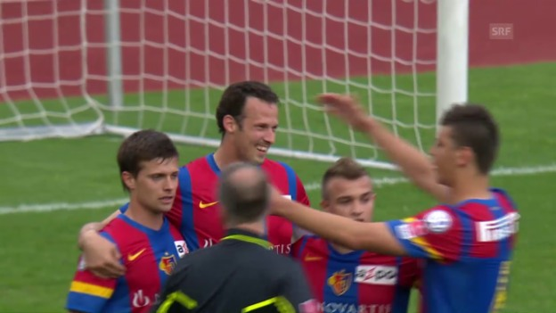 Video «2012: Basel deklassiert den FCZ im Letzigrund» abspielen