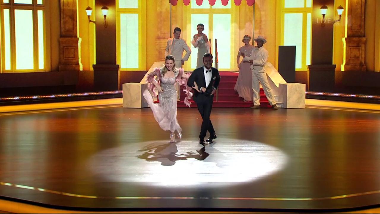 Michel Birri & Svetlana Guggenbühl mit einem Quickstep zu «Puttin' On The Ritz»