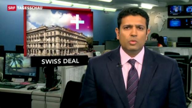 Video «Reaktionen zum Steuerdeal in den USA» abspielen