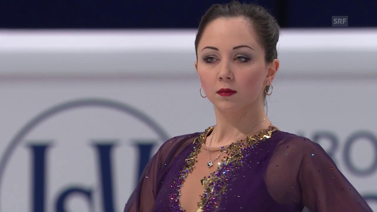 Eiskunstlaufen: EM in Stockholm, Gold für Tuktamyschewa