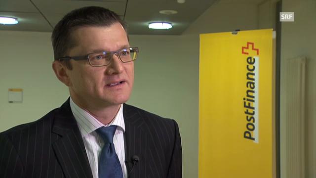 Hansruedi Köng über Anlagen und Geschäfte der Postfinance