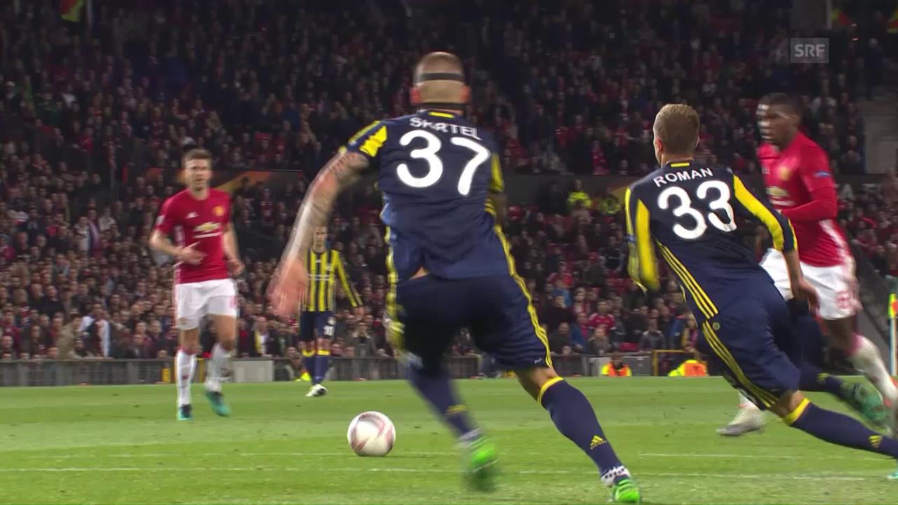 Manchester United lässt Fenerbahce keine Chance