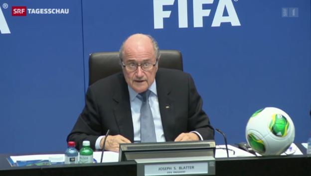 Video «WM-Spiele bleiben in Katar» abspielen