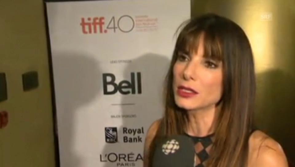 Sandra Bullock über Frauen in Hollywoodfilmen
