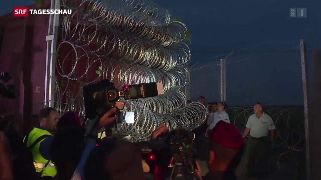 Ungarn schliesst die Grenze