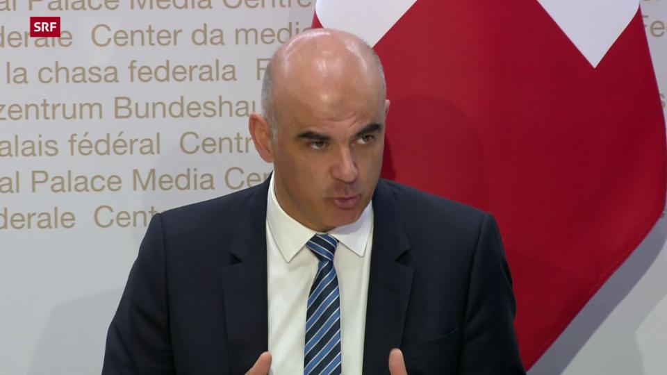 Alain Berset: «Es geht nur um die Änderungen vom 19. März»