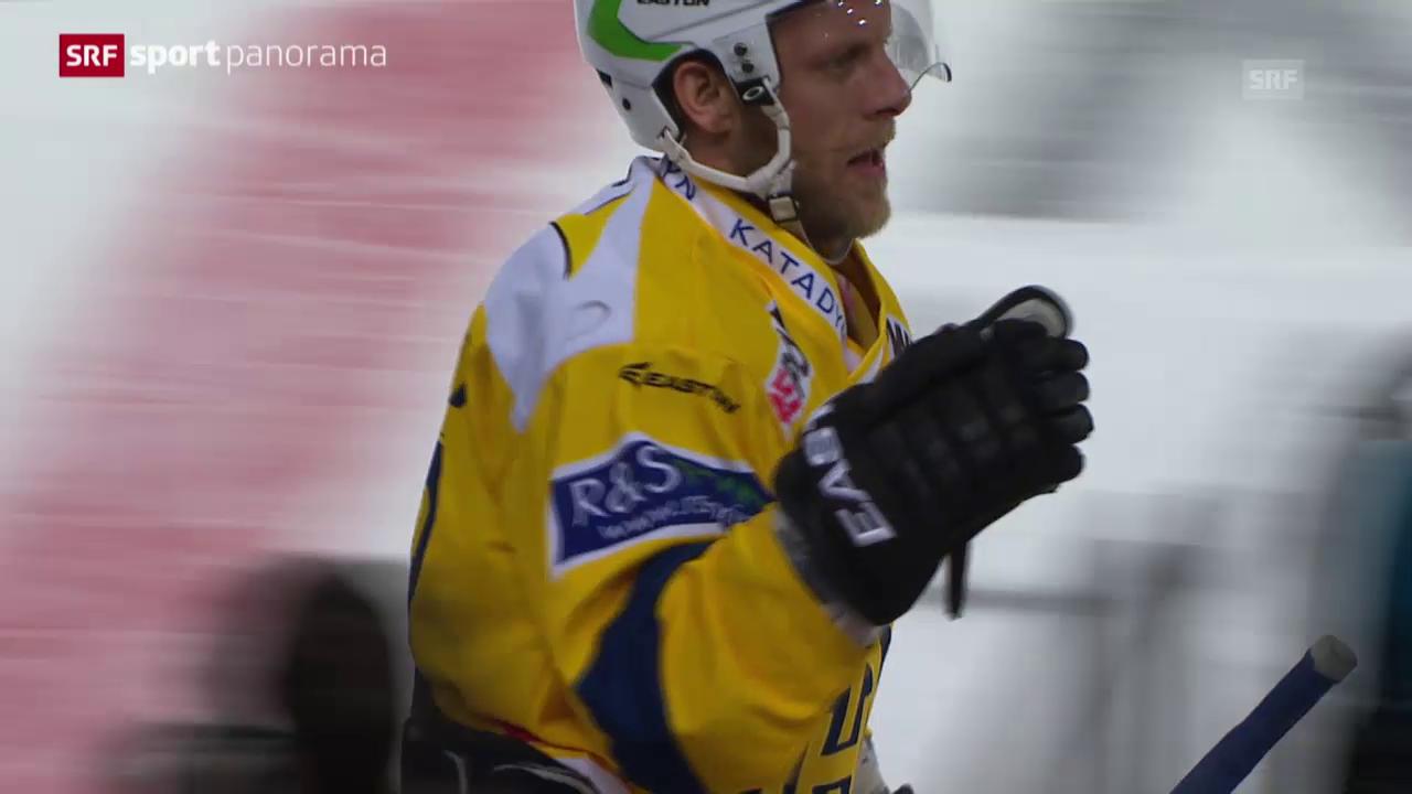 Eishockey: Meisterschütze Reto von Arx