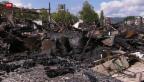 Video «Ein Tag nach dem Grossbrand» abspielen