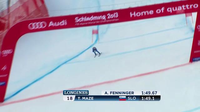 Ski-WM: Zusammenfassung Kombinations-Abfahrt Frauen