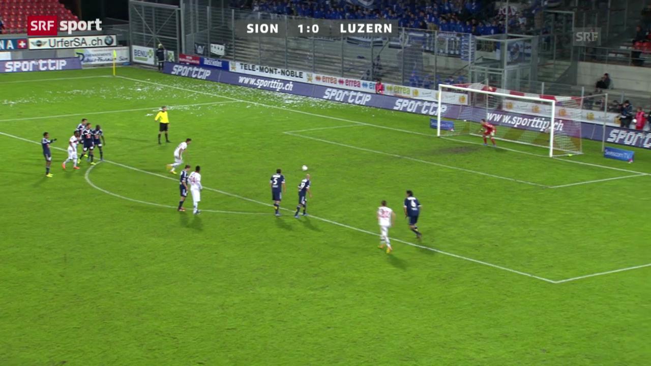 SL: Sion - Luzern