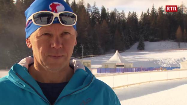 Laschar ir video «Organisaturs dal IBU-cup da biatlon a Lai èn cuntents»