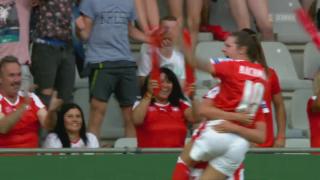 Video «Fussball: Die Frauen-Nati nach dem Island-Spiel an der EM» abspielen