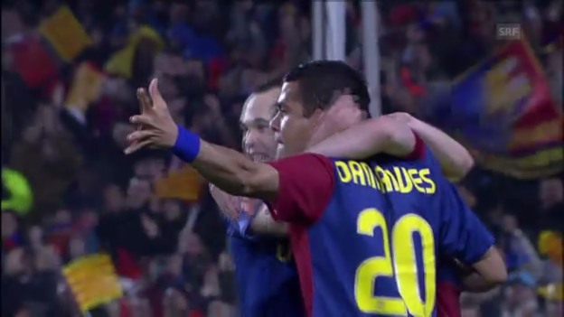 Video «Bayerns 0:4-Klatsche im Camp Nou von 2009» abspielen