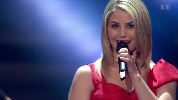 Video «Beatrice Egli mit «Mein Herz» bei Hello Again» abspielen
