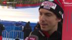 Video «Ski: Das 1. Training der Männer am Lauberhorn» abspielen
