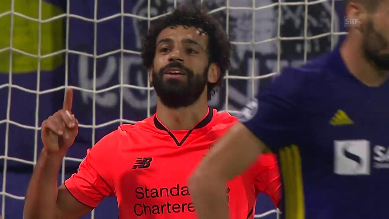 Matchwinner Salah bei Liverpool-Gala