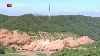 Video «USA und Südkorea testen Raketen» abspielen