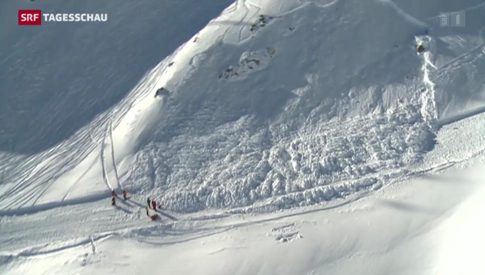 Zwei Tote in den schweizer Alpen