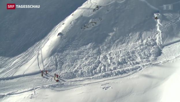 Video «Zwei Tote in den schweizer Alpen» abspielen